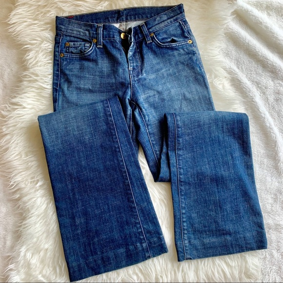 7 For All Mankind Denim - 7 for all mankind DOJO jeans sz 26